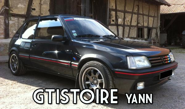 Yann – 205 GTI 1.9L Gris Graphite AM 91