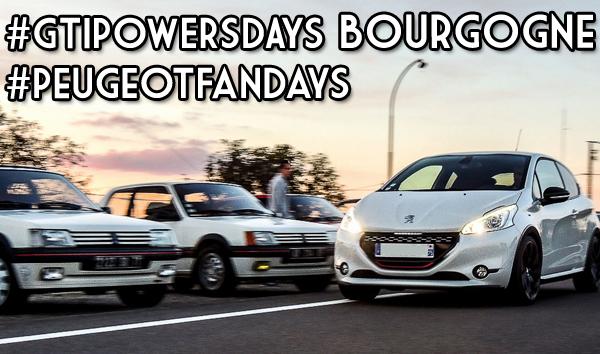 Peugeot Fandays / GTiPowersDays Bourgogne #1 : une première réussie et remarquée !