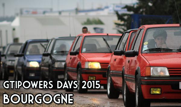 GTIPowers Days 2015 : A l'assaut de la Bourgogne