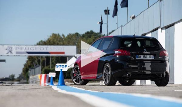 Nouvelle 308 GTI By Peugeot Sport : les essais commencent !