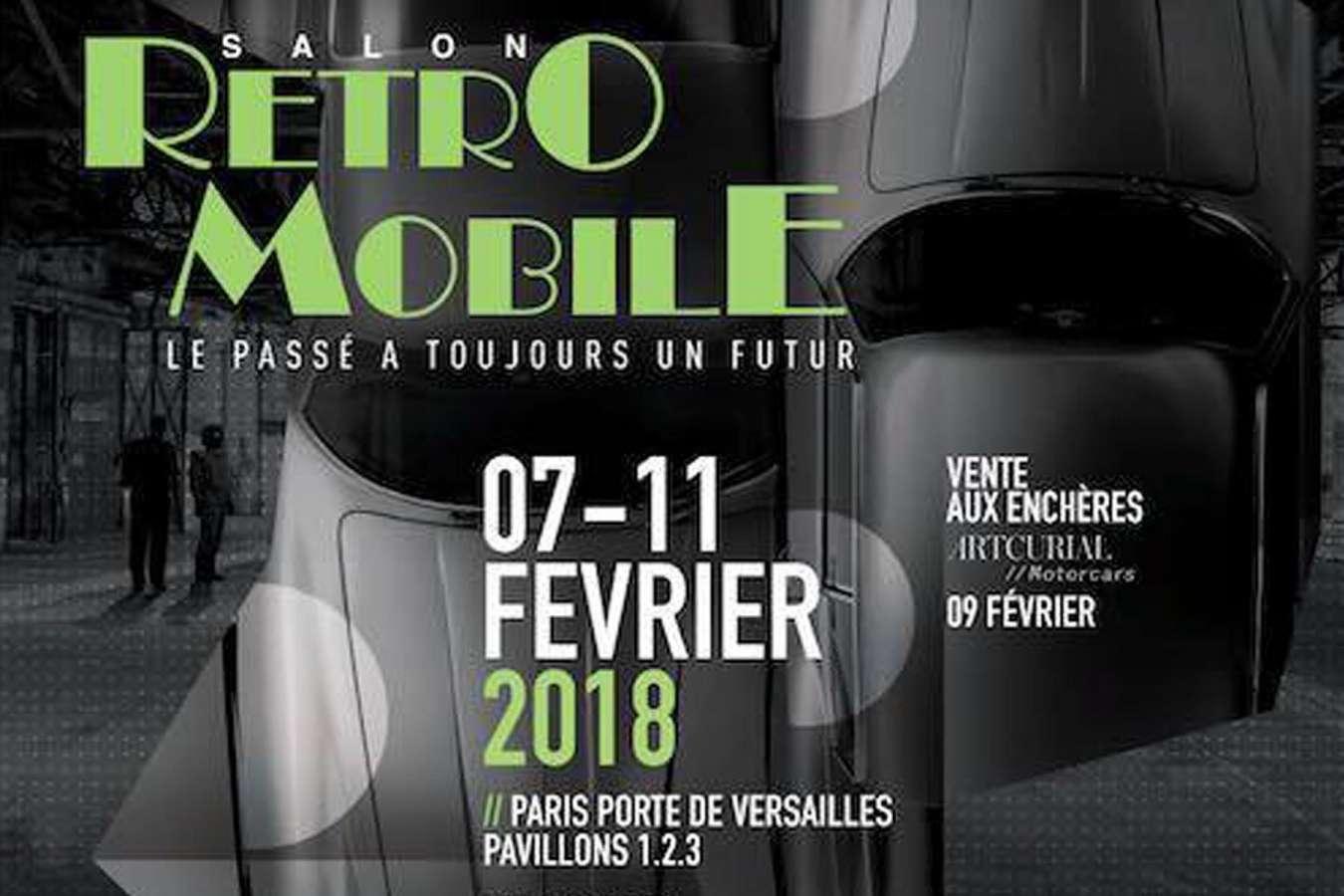 Salon Rétromobile : l'édition 2018 Porte de Versailles à Paris