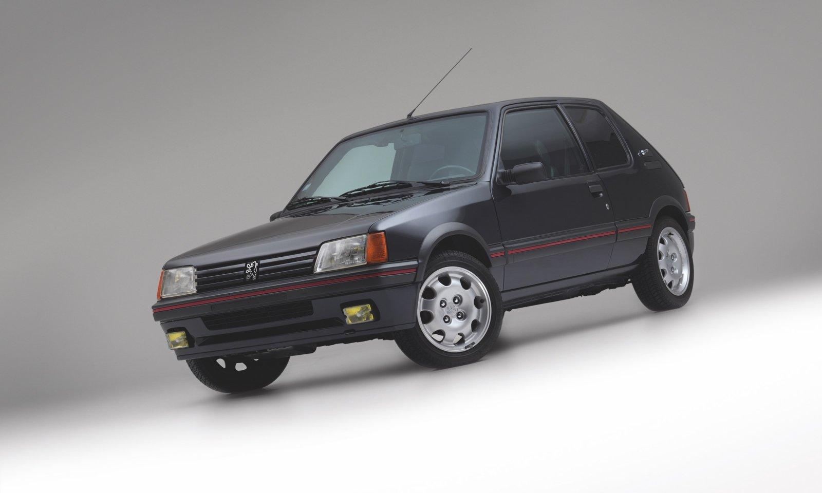 Une 205 GTI unique : Prix de vente 37.500€