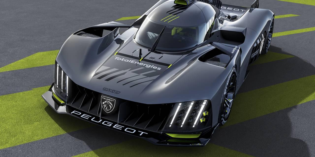 Peugeot Sport dévoile la 9X8 des 24h du mans